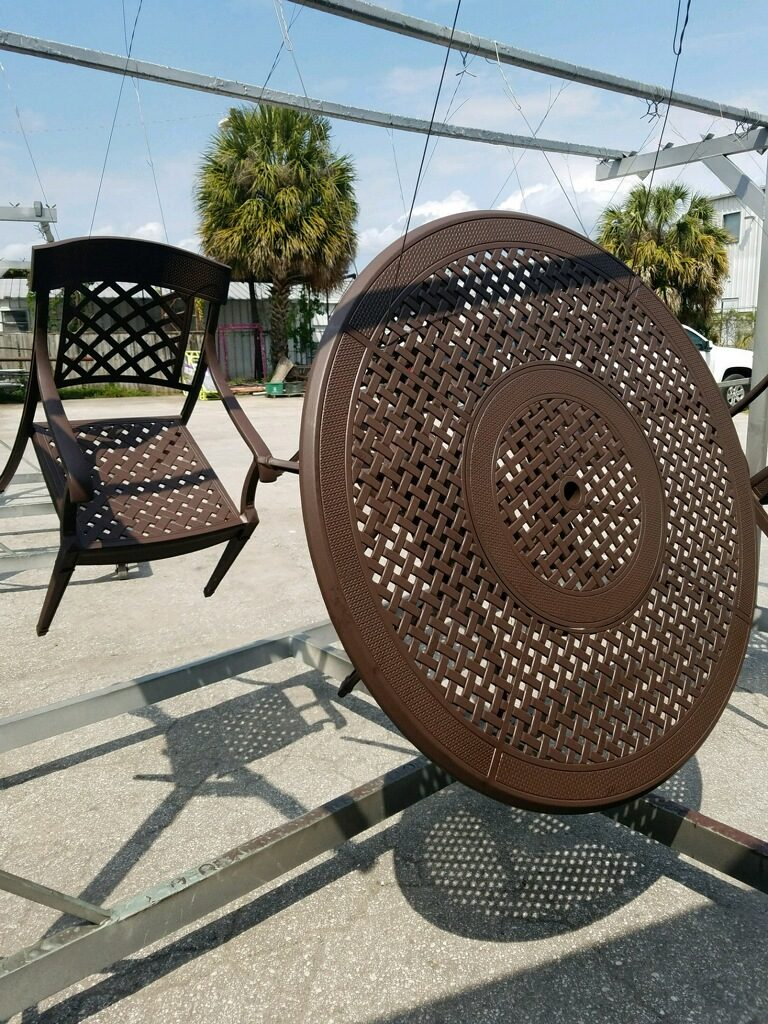 Patio Furniture - Tampa Bay Powder Coating and Sandblasting