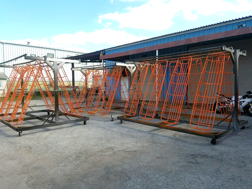 Powder Coated Rescue Baskets